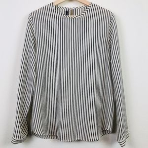 Louis Feraud Vintage Silk Striped Top